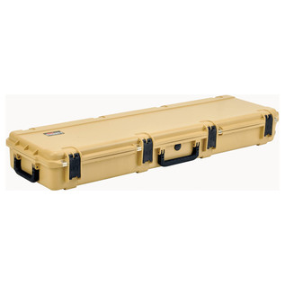 SKB iSeries 5014-6 Waterproof Case (Empty), Tan - Angled Flat 2
