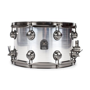 Natal Aluminium 13x8 Snare Drum w/ Brushed Nickel HW