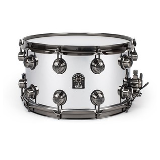 Natal Steel 14x8 Snare Drum w/ Brushed Nickel HW