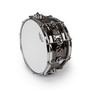 Natal Beaded Steel Center Hammered Snare Drum, 14 x 6.5''