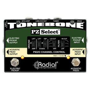 Radial Tonebone PZ-Select Two Channel Instrument Switcher Front