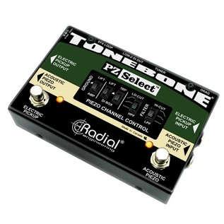 Radial Tonebone PZ-Select Two Channel Instrument Switcher Side