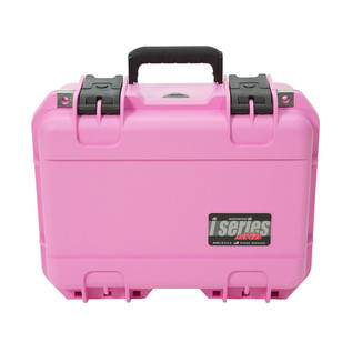 SKB iSeries 1309-6 Waterproof Case (With Dividers), Pink - Front Closed