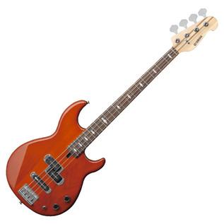 Yamaha BB1024 4-String Bass Guitar, Caramel Brown - Front Angled