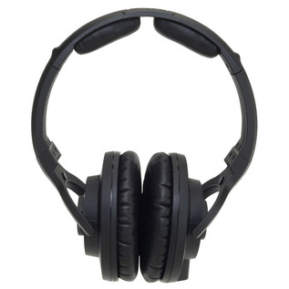 KRK KNS 8400 Professional Closed Back Dynamic Headphones, Case Bundle
