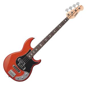 Yamaha BB1024X 4-String Bass Guitar, Caramel Brown - Front Angled