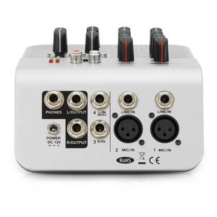 SubZero SZMIX04 4-Channel Mini Mixer by Gear4music