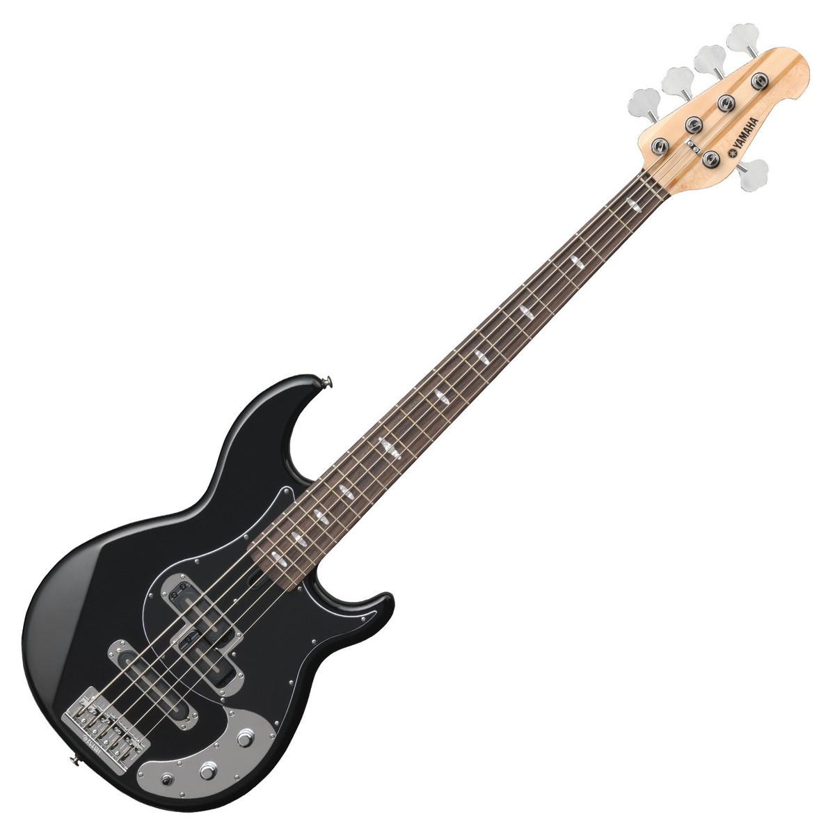 Yamaha bb1025x 5 string bass guitar black at for Yamaha bass guitars