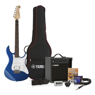 Yamaha Pacifica 012 Pack, Dark Blue Metallic - Pack