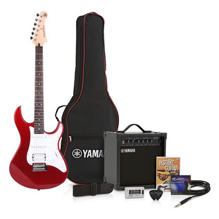 Yamaha Pacifica 012 Pack, Red Metallic - Pack