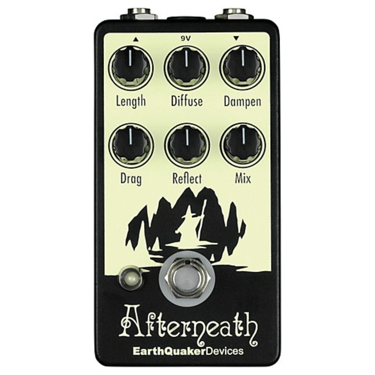 Image of EarthQuaker Devices Afterneath Reverb Pedal