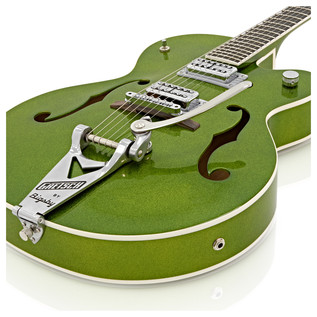 Gretsch G6120SH Brian Setzer Hot Rod Guitar, Green Sparkle