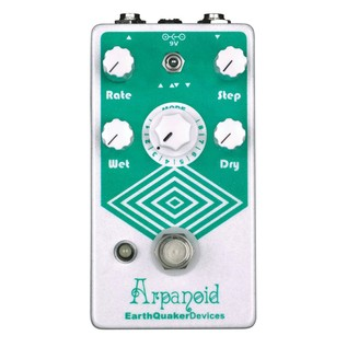 EarthQuaker Devices Arpanoid Polyphonic Pitch Arpeggiator Pedal Top