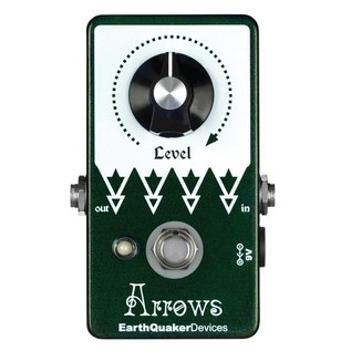 EarthQuaker Devices Arrows Preamp Booster Top