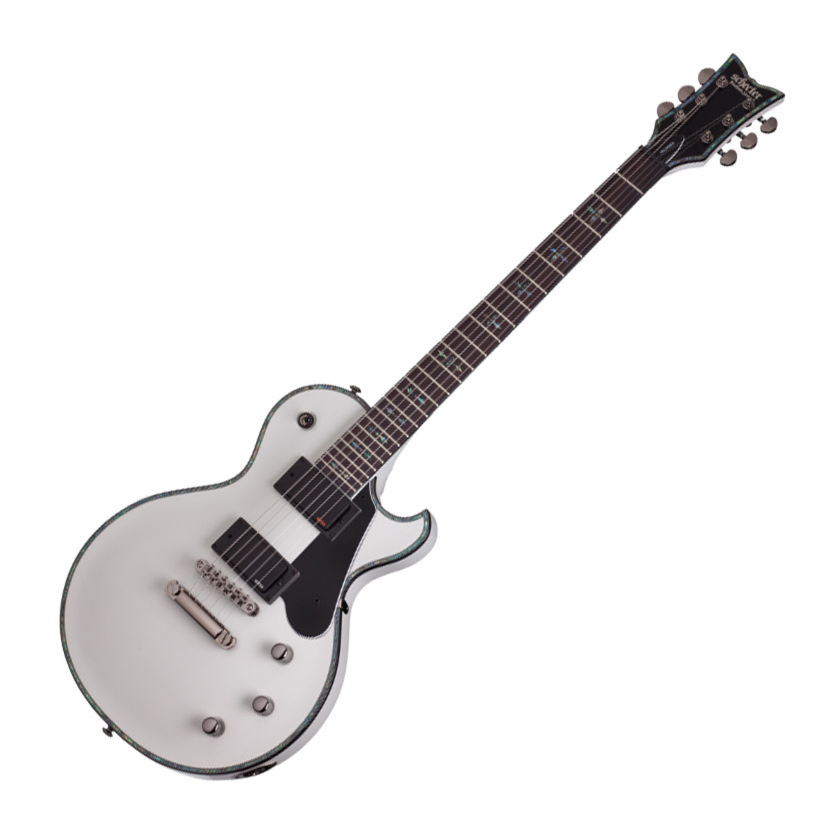 schecter hellraiser solo ii electric guitar gloss white at. Black Bedroom Furniture Sets. Home Design Ideas