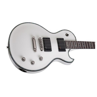 Schecter Hellraiser Solo-II Electric Guitar, White