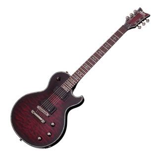 Schecter Hellraiser Solo-II Electric Guitar, Black Cherry Burst