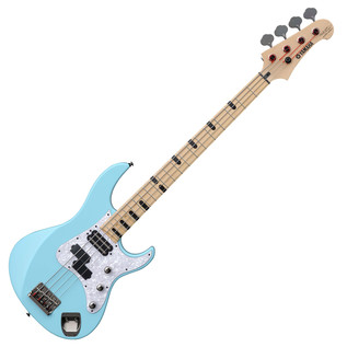 Yamaha Attitude Limited 3 Billy Sheehan Bass Guitar, Sonic Blue - Front Angled