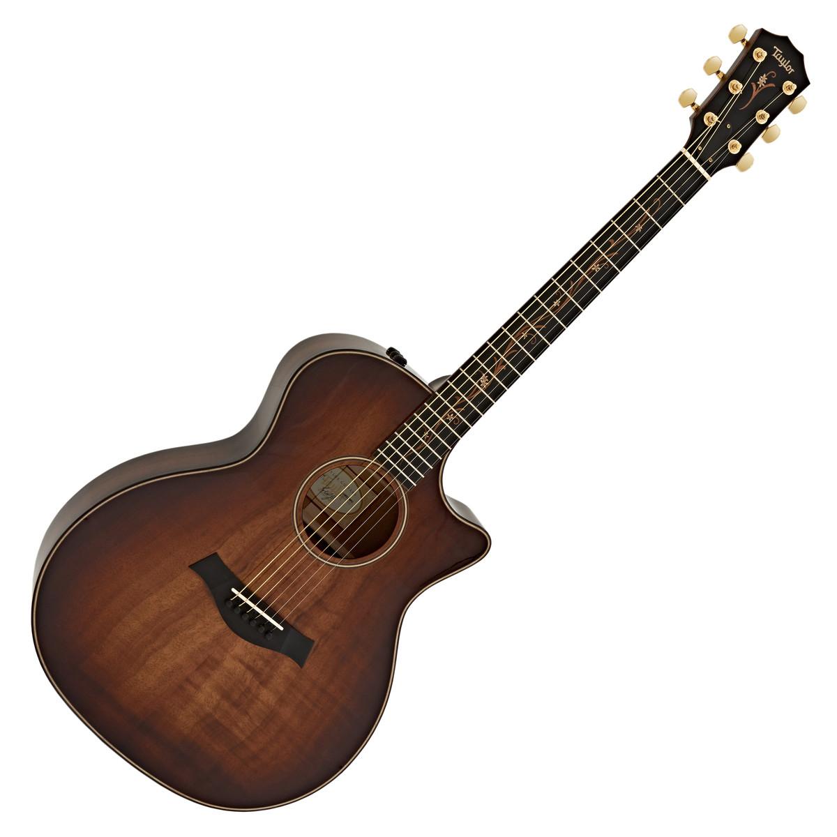 Taylor K24ce Koa Grand Auditorium Electro Acoustic Guitar ...