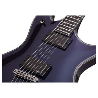Schecter Hellraiser Hybrid Tempest Electric Guitar,Ultra Violet
