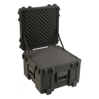 SKB R Series 1919-14 Waterproof Utility Case (With Cubed Foam) - Angled Open