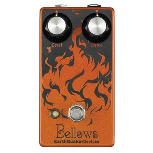 EarthQuaker Devices Bellows Fuzzdriver Top Panel