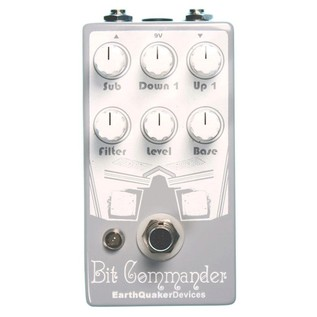 EarthQuaker Devices Bit Commander Octave Synth Top Panel