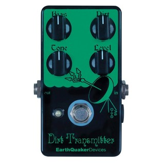 EarthQuaker Devices Dirt Transmitter Fuzz Top Panel