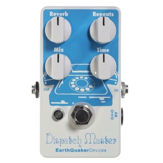 EarthQuaker Devices Dispatch Master Delay & Reverb Top Panel