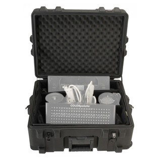 SKB R Series 2217-10 Waterproof Utility Case (With Dividers) - Front Open (Contents Not Included)