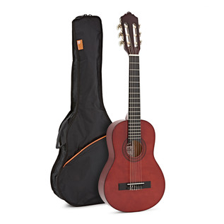 Ashton SPCG14 1/4 Size Classical Guitar Starter Pack, Amber