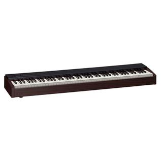 Roland F-20 Portable Piano, Dark Walnut