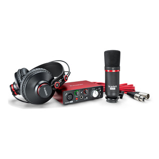 Focusrite Scarlett Solo Studio MKII - Bundle View 2