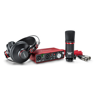 Focusrite Scarlett 2i2 Studio MKII - Bundle View 2