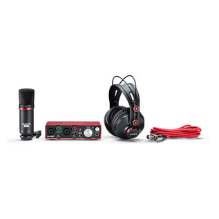 Focusrite Scarlett 2i2 Studio MKII - Bundle View 3
