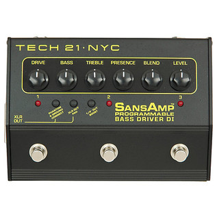 Tech 21 SansAmp Programmable Bass Driver DI