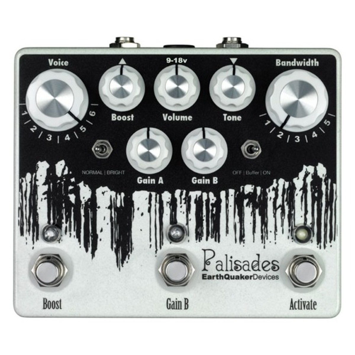 Image of EarthQuaker Devices Palisades Dual Overdrive and Boost