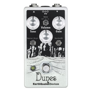 EarthQuaker Devices Dunes Mini Mega Ultimate Overdrive Top Panel