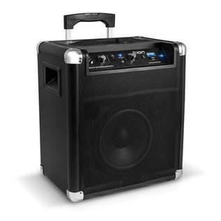 ION Block Rocker Bluetooth Speaker with Wireless Technology, Black