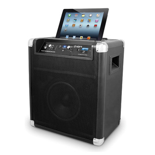 ION Block Rocker Bluetooth Speaker with Wireless Technology, Black (iPad Not Included)