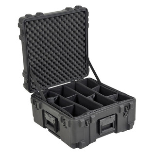 SKB R Series 2222-12 Waterproof Case (With Dividers) - Angled Open