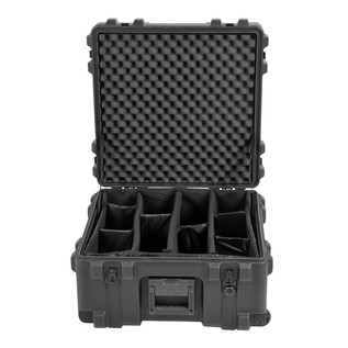 SKB R Series 2222-12 Waterproof Case (With Dividers) - Front Open