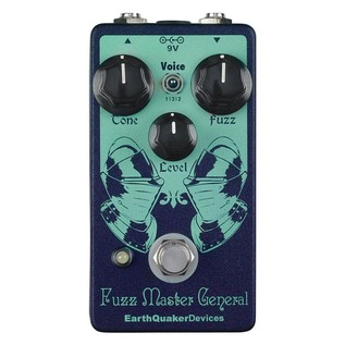 EarthQuaker Devices Fuzz Master General Octave Fuzz Top Panel