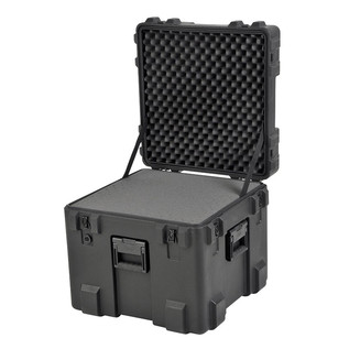 SKB R Series 2222-20 Waterproof Case (With Cubed Foam) - Angled Open