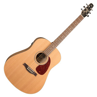 Seagull S6 Original QI Electro Acoustic Guitar, Natural w/ TRIC Case