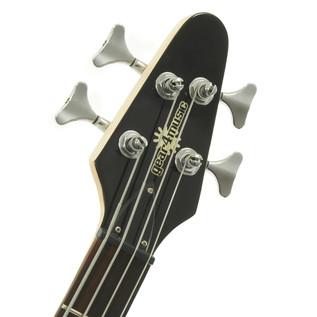 Miami Bass Guitar by Gear4music, Black