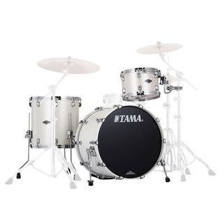 Tama Starclassic Performer B/B 3Pc Shell Pack, Satin Pearl White