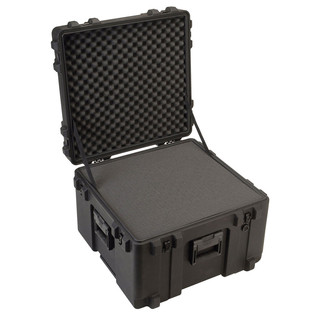 SKB R Series 2423-17 Waterproof Case (With Cubed Foam) - Angled Open