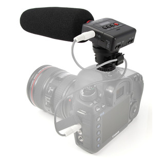 DR10SG Mounted to Camera