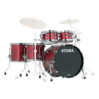 Tama Starclassic Performer B/B 5Pc Shell Pack, Coral Red Sparkle